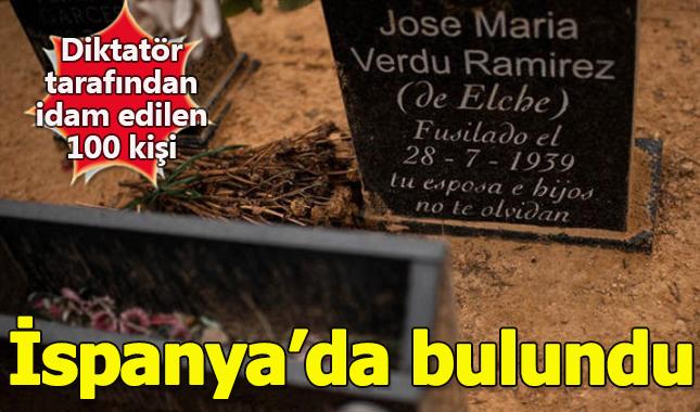 İspanya'da eski diktatör Francisco Franco'nun idam ettiği 100 kişinin mezarı bulundu A24