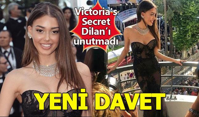 Dilan Çiçek Deniz'e Victoria's Secret'tan yeni davet A24