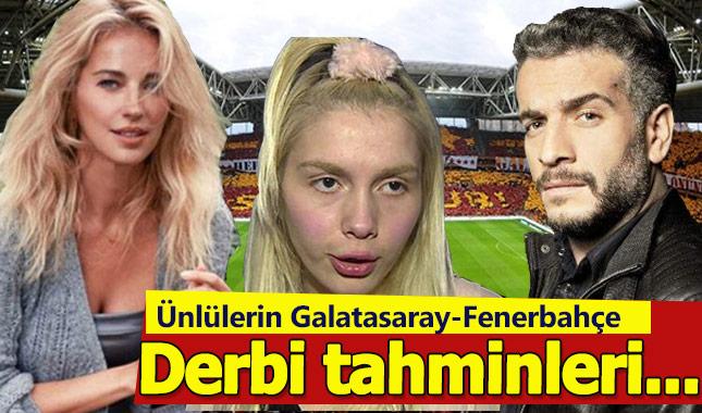 Ünlüler Galatasaray - Fenerbahçe derbisi için tahminde bulundu A24