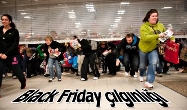 Tüm dünyada Black Friday çılgınlığından resimler görseller