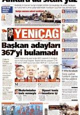Türkiye' de Yeniçağ Gazetesi